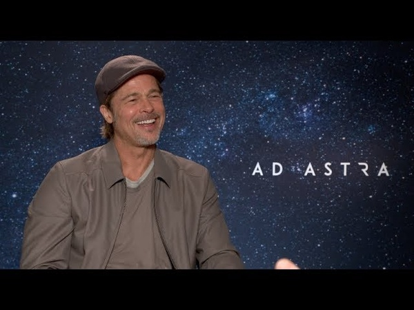 Brad Pitt interview Ad Astra Fight Club Fincher Once Upon a Time Butch Cassidy