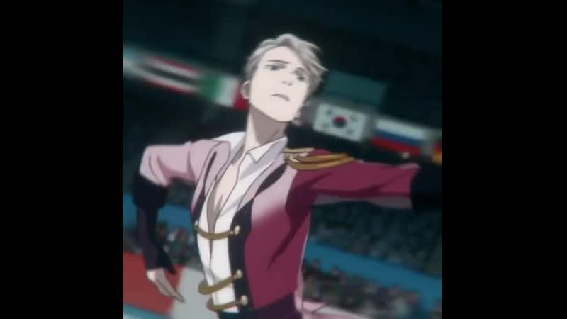Yuri on ice victor nikiforov anime edit