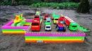 Tạo khu vui chơi giải trí cho các loại xe Ô tô tải, máy xúc, cần cẩu - Ô tô đồ chơi trẻ em hay nhất