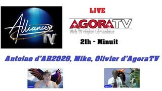 Direct avec AH2020 - Antoine, Agora tv et les invités surprises