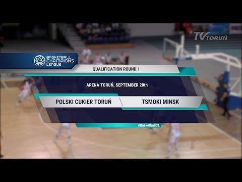 2018-09-20: Champions League - Polski Cukier Torun VS. Цмоки-Минск - Полная Версия