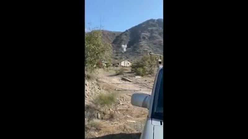 обстрел приграничной территории Армении