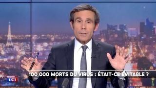 LCI : 100 000 morts du COVID ? Pujadas démontre la supercherie en 2 mn [HD]