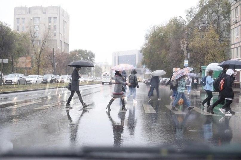 Из-за дождя в Самарской области объявлен желтый уровень опасности