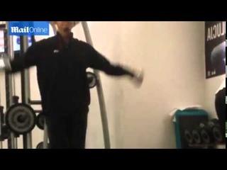 Как тренируется (качается) Барак Обама