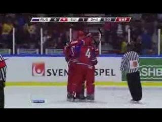 МЧМ 2014: Россия - Швейцария 7:1 (U20)