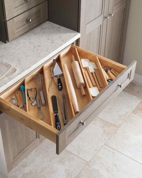 Как много идей для идеального порядка на кухне.