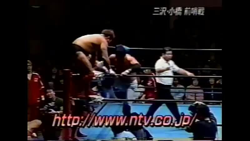 2000.04.09 - Mitsuharu Misawa/Yoshinari Ogawa/Daisuke Ikeda vs. Kenta Kobashi/Tsuyoshi Kikuchi/Kentaro Shiga [JIP]