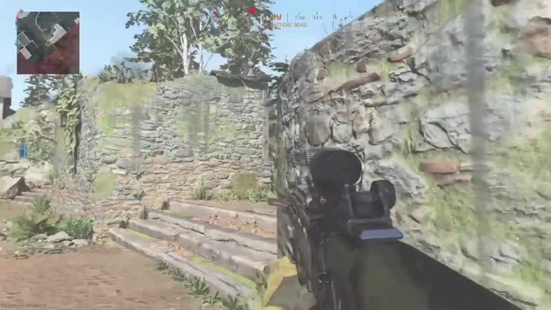 Corner camper was expecting an easy kill what he got was a Semtex grenade stuck to a tree trunk Modern Warfare