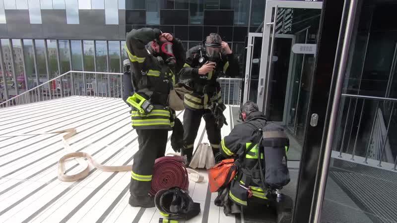 Плановое показное пожарно-тактическое учение