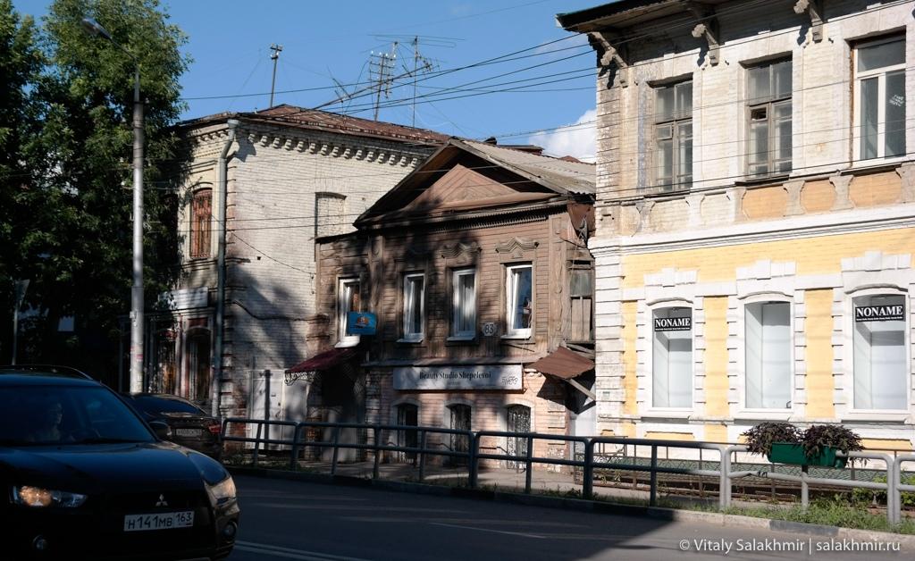 Дома в историческом центре Самары, 2020