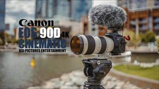 Canon EOS 90D 4K Video Test