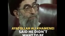 Iran's Supreme Leader In 1989: 'I Am Not Qualified'