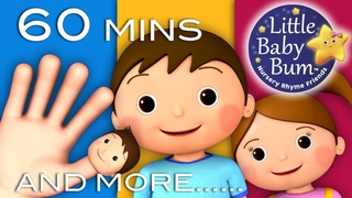 Learn with Little Baby Bum | Finger Family | Nursery Rhymes for Babies | ABCs and 123s | Cartoon