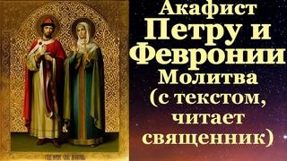 Акафист Петру и Февронии, с текстом, слушать, читает священник, молитва о любви браке и замужестве