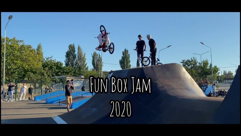 Открытие Скейт парка в Саках Fun Box Jam 2020 Призовой 100к