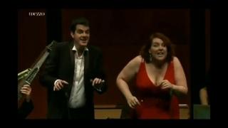 Бис концерта в Баден-Бадене 2012 г. Филипп Жарусски и Мари-Николь Лемьё