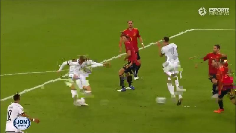 Alemanha 1 x 0 Espanha Gol de Timo Werner Goal Liga das Nações 2020 21