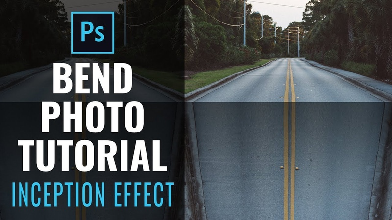Bend a Photo - Photoshop Manipulation Tutorial - Perspective Inception Effect