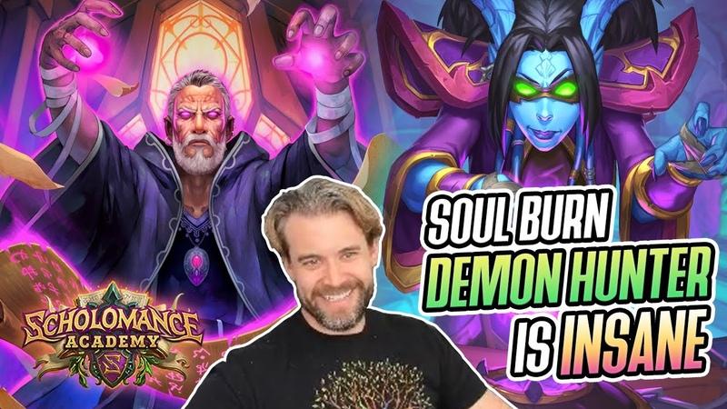 Hearthstone Soul Burst Demon Hunter Is INSANE