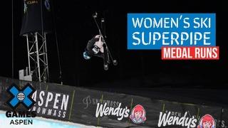 MEDAL RUNS: Women's Ski SuperPipe | X Games Aspen 2021