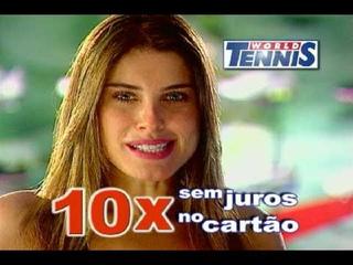 Ana Luiza Castro - Filme World Tennis