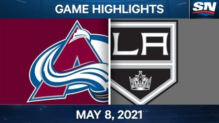 NHL Game Highlights | Avalanche vs. Kings - May 8, 2021
