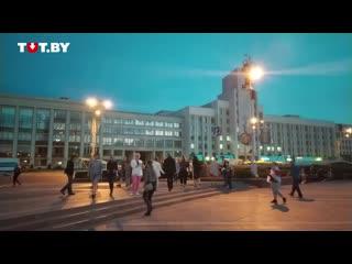 Людям на площади Независимости включили песню «Омон» группы «Мона Лиза»