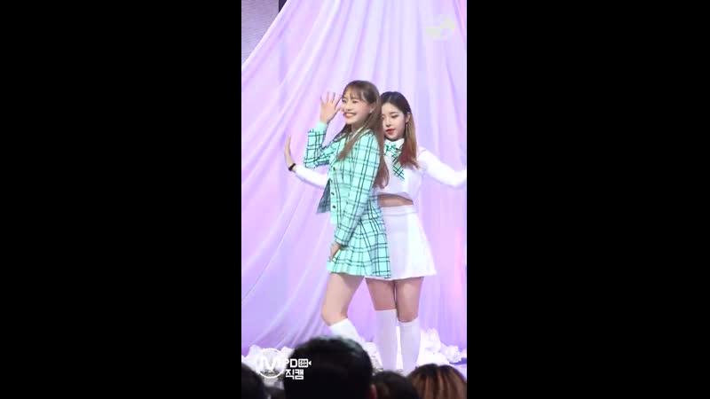 MPD직캠 이달의 소녀 yyxy 츄 직캠 love4eva LOONA yyxy Chuu FanCam @MCOUNTDOWN 2018 6 7