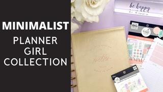 NEW HAPPY PLANNER GIRL - MINIMALIST | Flip Through of Minimalist Collection