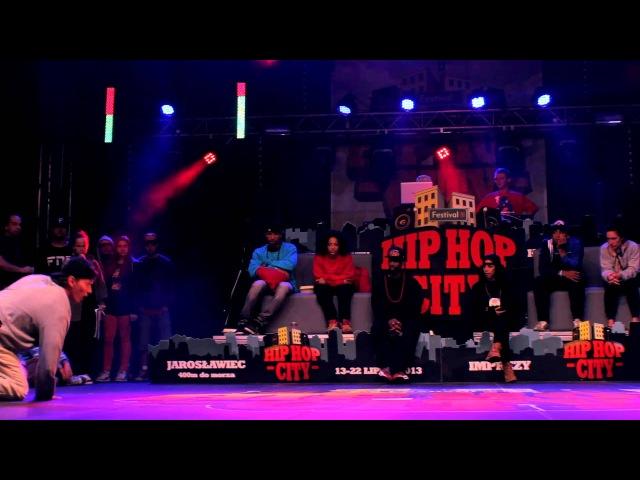 SEMIFINAL   HIP HOP CITY   All Styles 1 vs 1 - Prozi vs Kaczorex  
