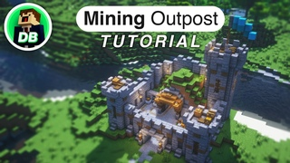 Minecraft: How to build a Mining Outpost (Tutorial)