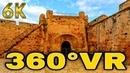 360° VR Lion Porta del Mare Bastion Famagusta Othellos Castle Meyhanesi 6K 3D Virtual Reality HD 4K