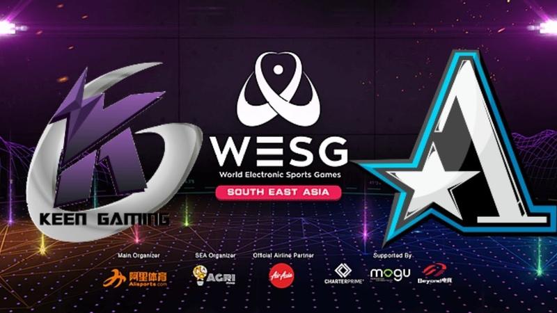 🔴DOTA 2[RU]Keen Gaming vs Team Aster(Best of 1) WESG 2019, Group Stage, Group B