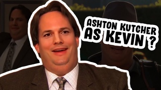 if kevin actually looked like ashton kutcher