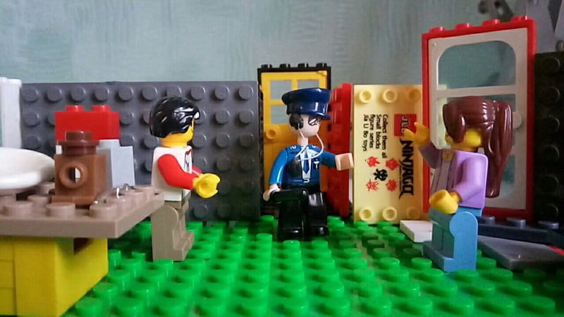 Лего мультик Всё тайное становится явным