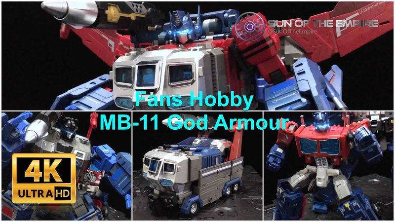 Fans Hobby MB-11 God Armour MB-06 Power Baser   Master Piece God Ginrai Q.Review 179