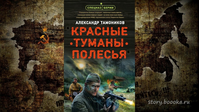 Александр Тамоников Красные туманы Полесья