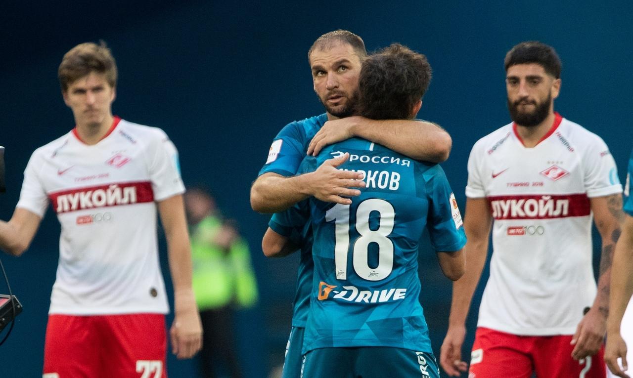 Зенит - Спартак, 2:1. 1/2 Кубка России 2019/20