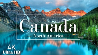 Canada 4K Video Ultra HD   Beautiful piano music & Cinematic Travel Video