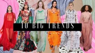 10 Big Trends - Spring/Summer 2021