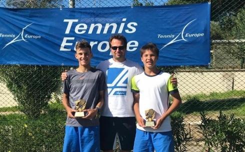 Карагандинец стал победителем международного турнира «Tennis Europe»