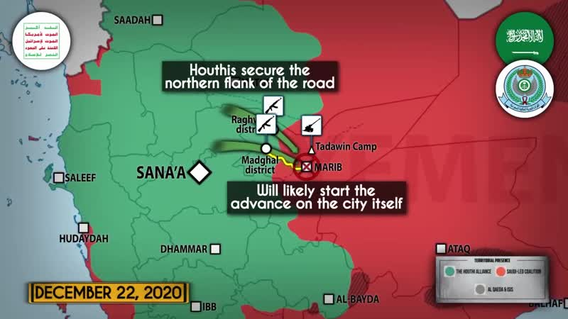 Yemeni forces advance on Marib destroying Saudi gangs