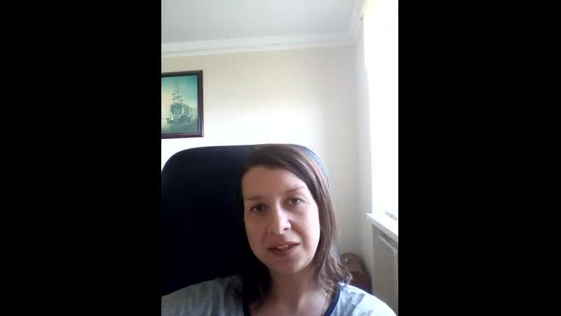 Наталья Ходакова об участии в курсе Здоровье ребенка без лекарств
