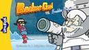 Kids' English Rocket Girl vs Freddie Freeze 3 A Slippery Slope Superheros Little Fox Animated Stories