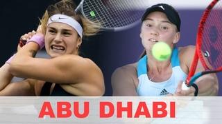 Абу-Даби 2021, 1/4 Aryna Sabalenka vs Elena Rybakina