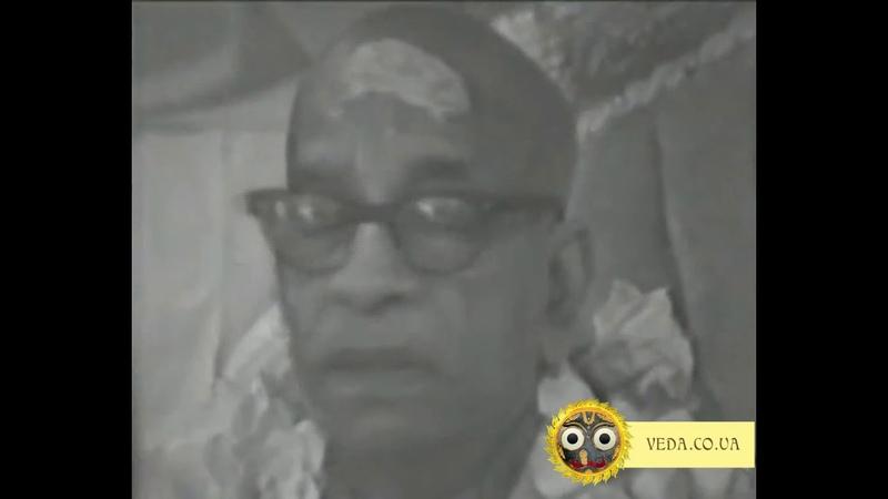 Шрила Прабхупада - ШБ 1.8.35 Духовная и материальная жизнь