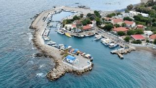 Greece Rhodes / Faliraki port ( 4K Video )