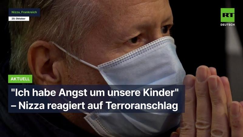 Ich habe Angst um unsere Kinder – Nizza reagiert auf Terroranschlag