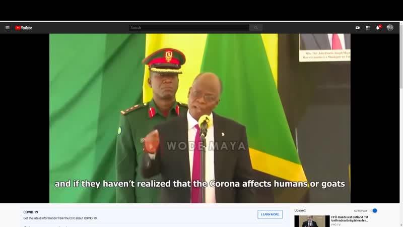 Czy prezydent Tanzanii ujawnił wadliwe testy COVID 19 testując próbki które udawały ludzkie 2